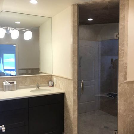 Lake Mohawk New Jersey Bathroom Remodel