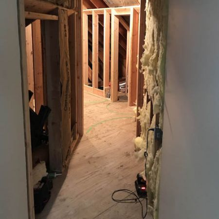 New Guest Bathroom Framing