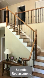 Replace Staircase Spindle