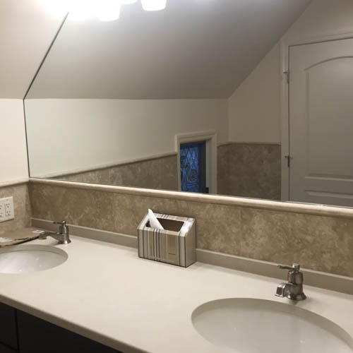 Lake Mohawk Bathroom Remodel